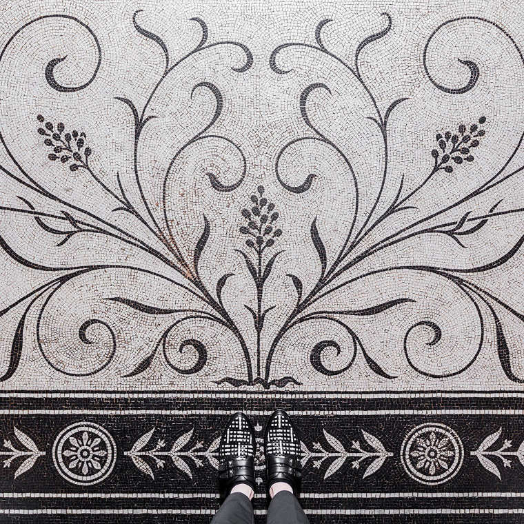 London Floors – Documenting the most beautiful tiles of London on Instagram