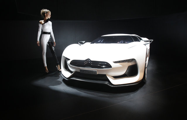 A GT by Citroen concept car is seen at the Moscow Auto Salon 2010 (the Moscow International Motor Sh