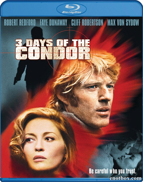 Три дня Кондора / Three Days of the Condor (1975/BDRip/HDRip) + AVC