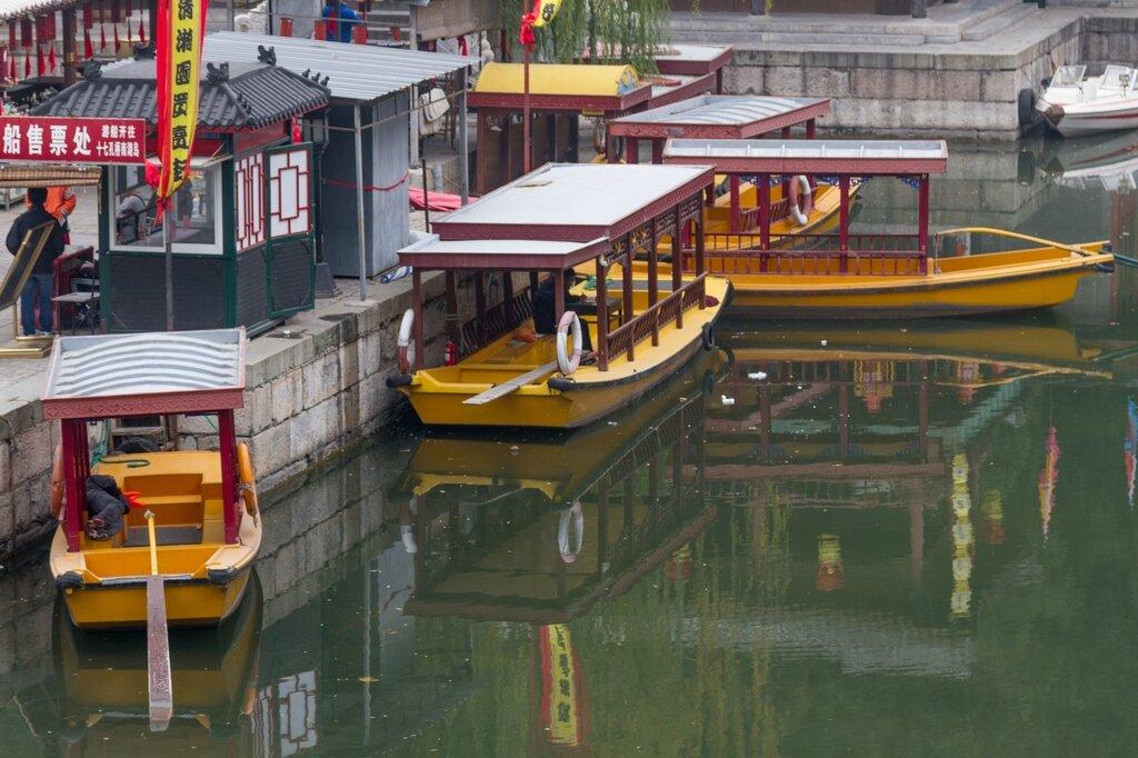 Пристань, парк Ихэюань, Пекин
