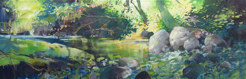 Umpqua Understory acrylic-canvas 12x36 $900.jpg
