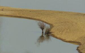 Песчаная коса весной