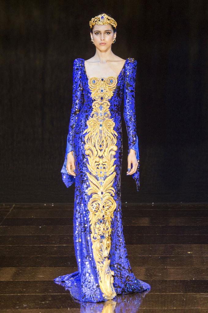 Неделя высокой моды в Париже осень 2016: Guo Pei