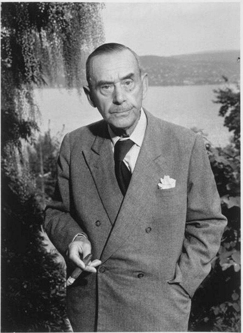 1955. Томас Манн в Кильхберге