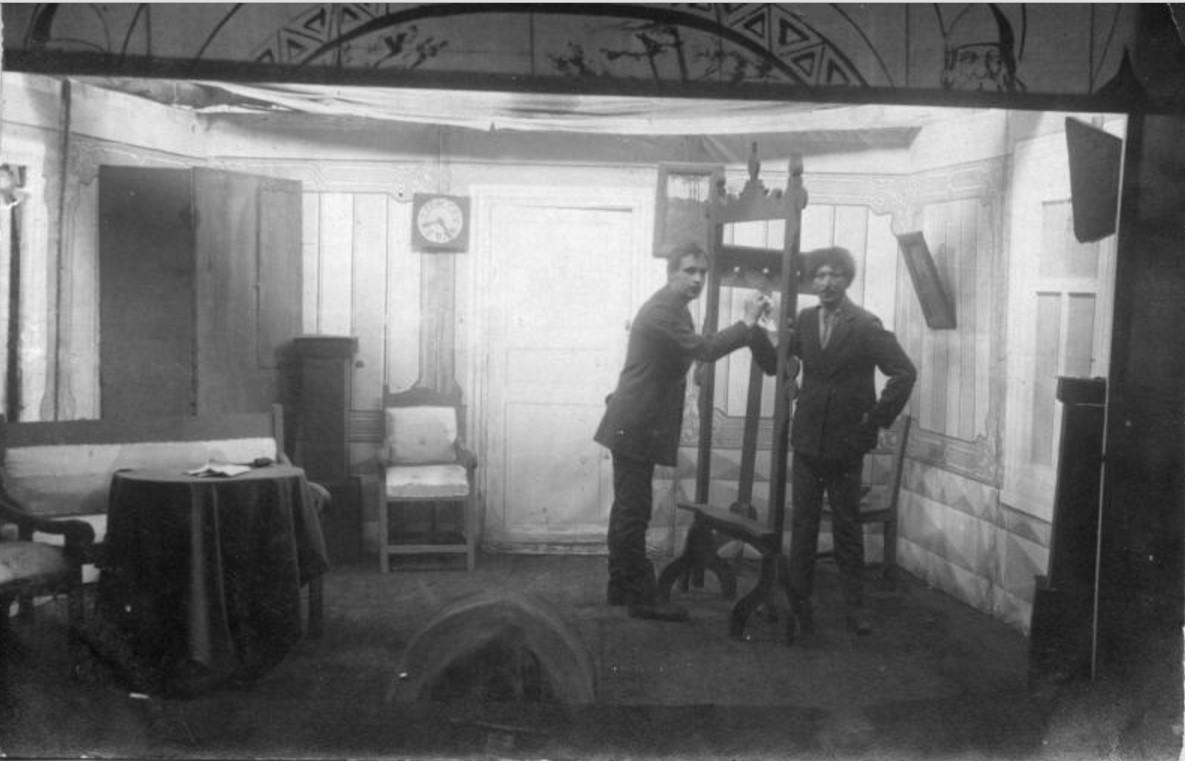 1914. Дивизионный театр