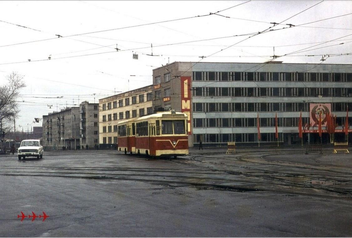 1978. Тверь. Площадь Капошвара