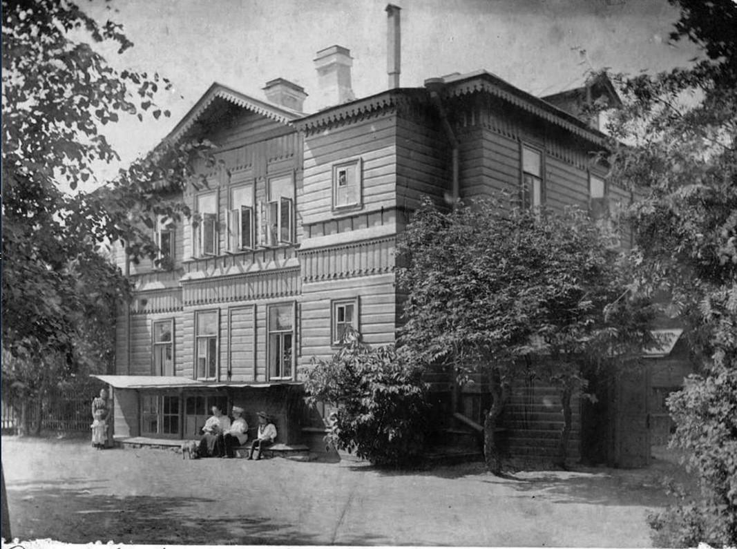 Дача Любови Иосифовны Аничковой летом 1894 года