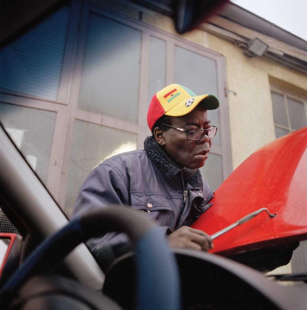 Тогбе Нгорифия Кифа Коси Банса - верховный правитель территории Хохо в Гане. 0_17760e_ef136a31_orig