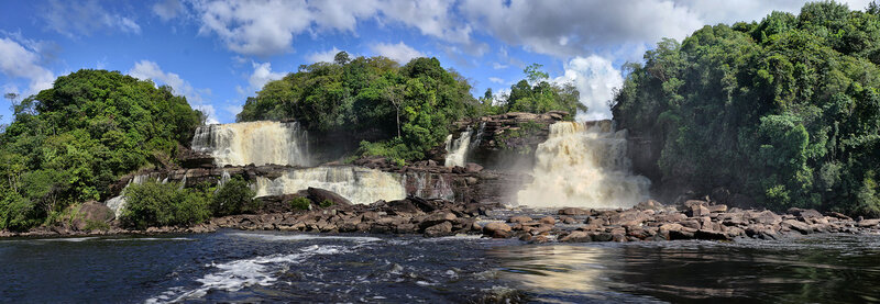 Водопад Гуадима.