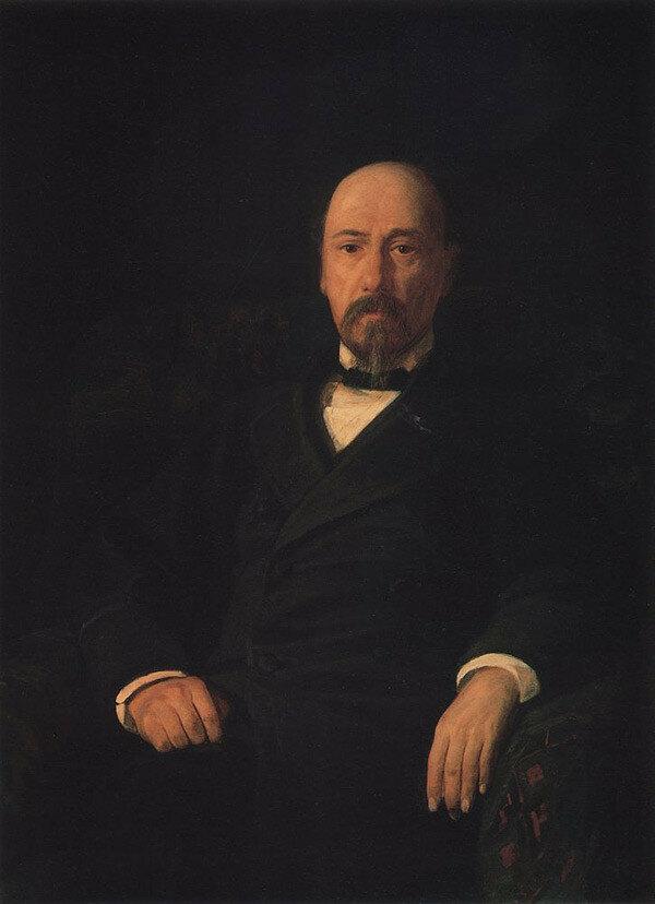 Портрет поэта Н.А.Некрасова. 1872..jpg