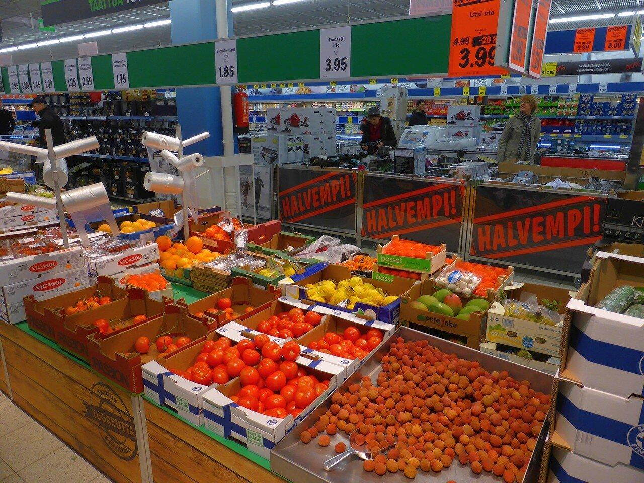 Супермаркет Lidl (Лаппеенранта, Финляндия)
