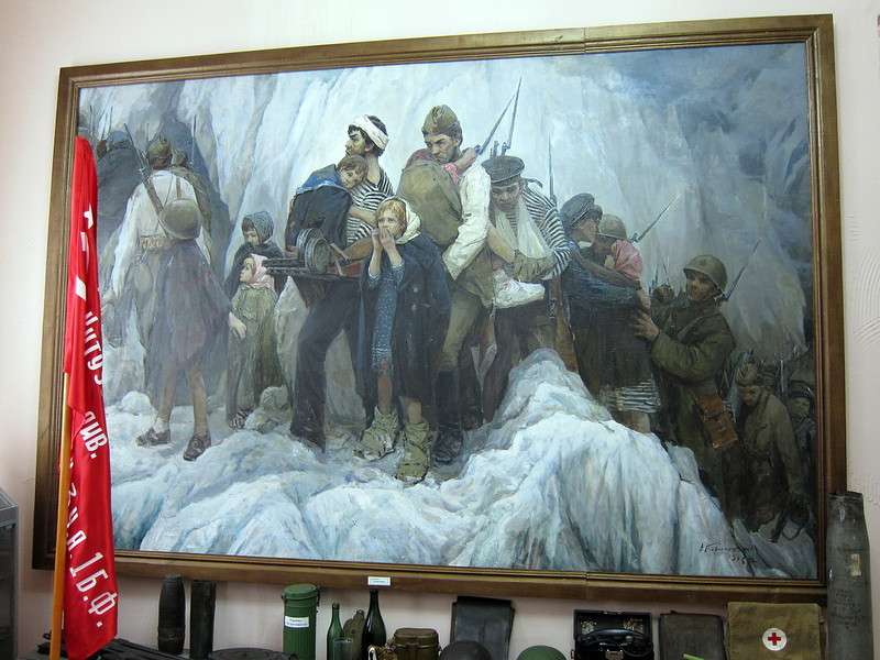 Картина вкраеведческом музее Пласта