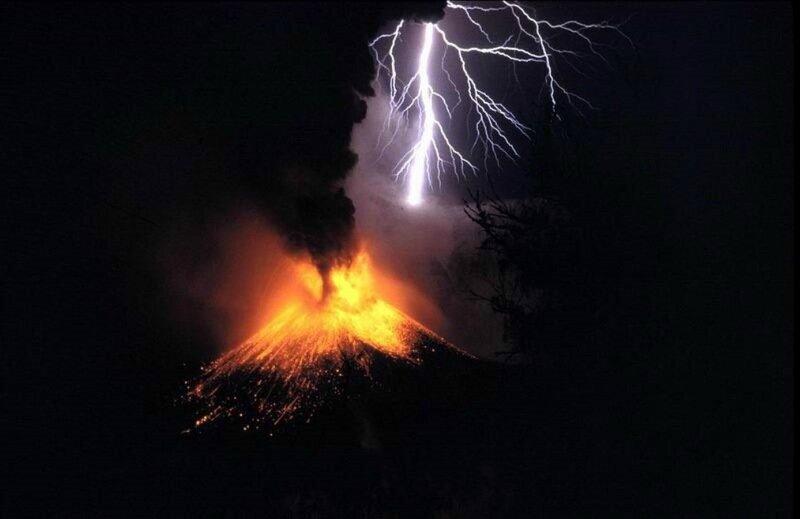 Красивые фотографии извержения вулканов 0 1b626e f29667dd XL