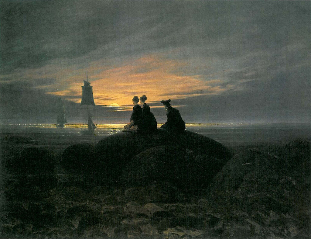 Moonrise by the Sea v.2 (1822) Nationalgalerie, Berlin.jpg