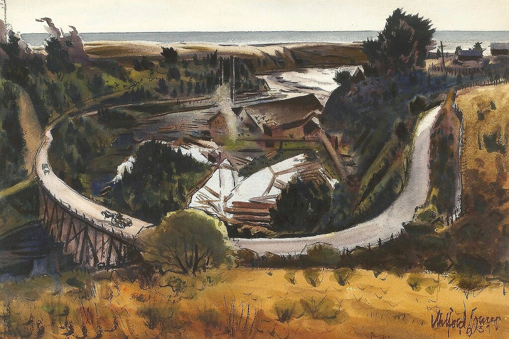 Saw Mill by the Sea, 1939.jpg