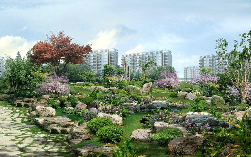 Красивые китайские пейзажи. Фотографии природы Китая, похожей на картины 0 1c4d56 f3d6397a XL
