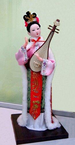 Четыре самых красивых и знаменитых женщин Китая. Ван Чжаоцзюнь (очаровывающая диких гусей).