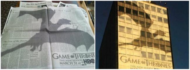 Маркетинговая кампания HBO перед выходом 3-го сезона «Игры престолов» была серьезно продумана, после