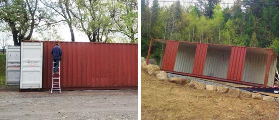 Девушка построила потрясный дом изнеобычного материала (14 фото)
