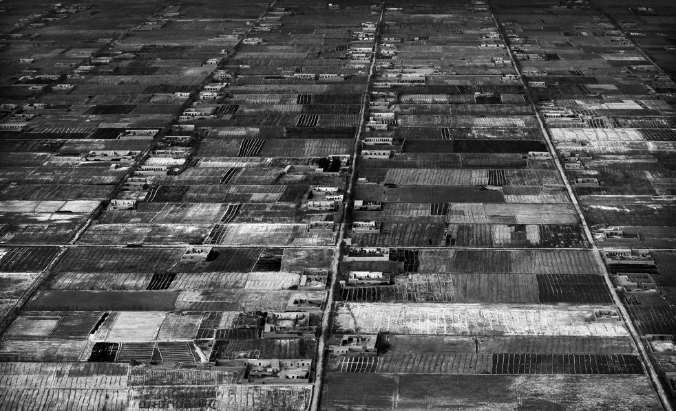 10. Вид с воздуха на город Маржах. (AP / Kevin Frayer)