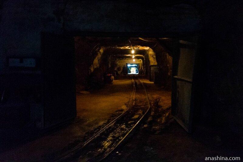 Боковой тоннель шахты, Пешелань