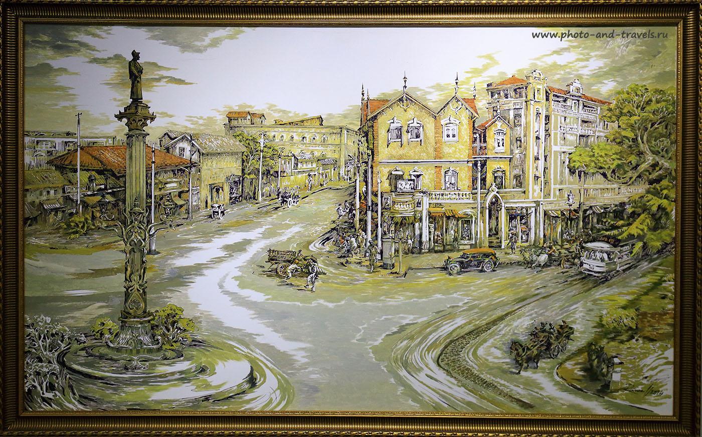 Фотография 2. Современная картина. Улица Бомбея во второй половине XX века. Отчеты о путешествии по Индии. (24-70,1/160, 0eV, f7.1, 33 mm, ISO 1600)