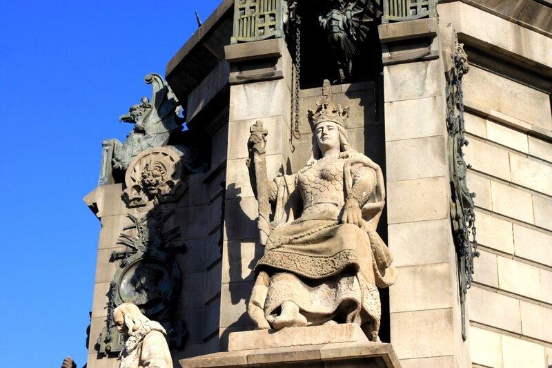 Барселона, памятник Колумбу (Barcelona Columbus Monument)