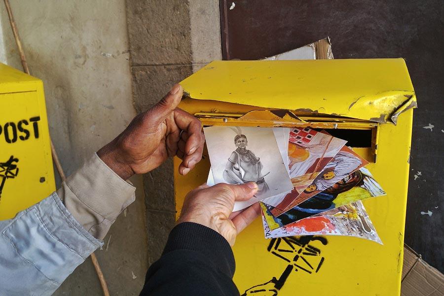 Открытки из Эфиопии отправлены