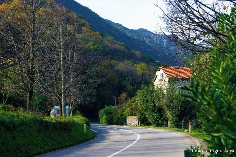Дорога в Костаньице