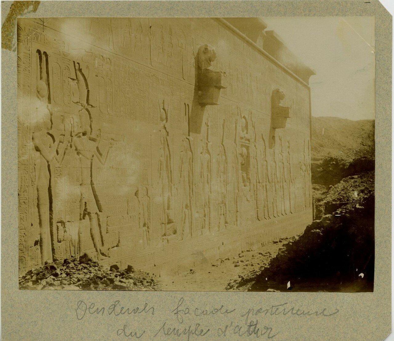 1875. Задняя часть храма