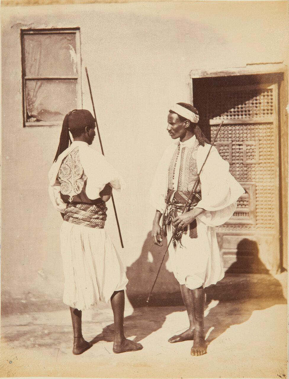 Два воина. 1873-82