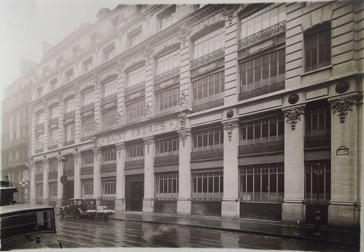 1930-е. «SAINT FRERES», рю Лувре