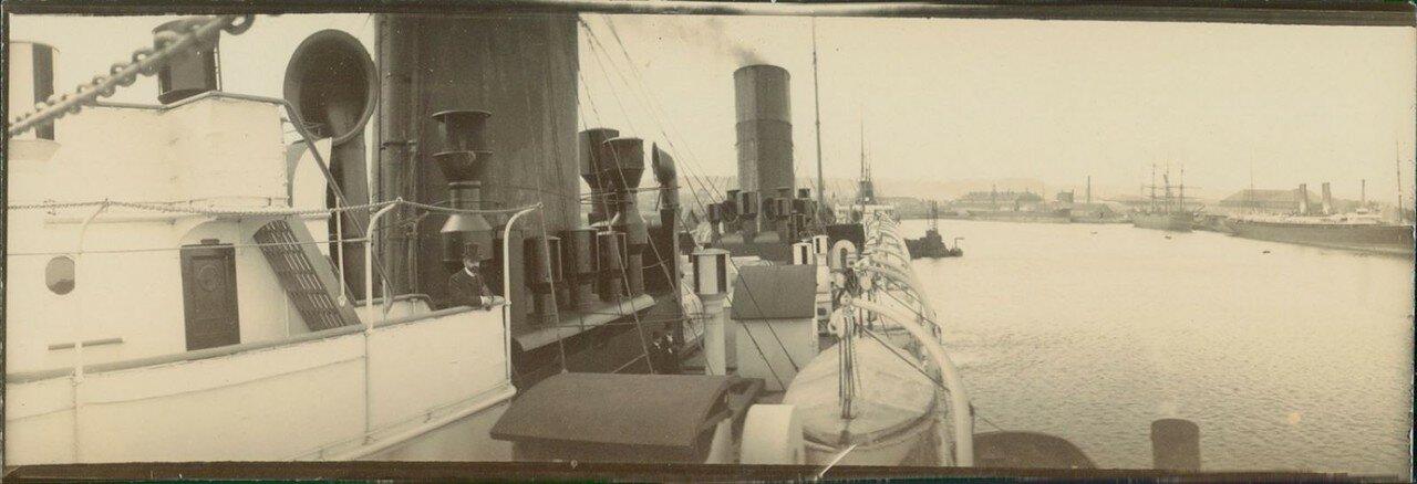 Гавр. Трансатлантический пароход «Савой». На борту