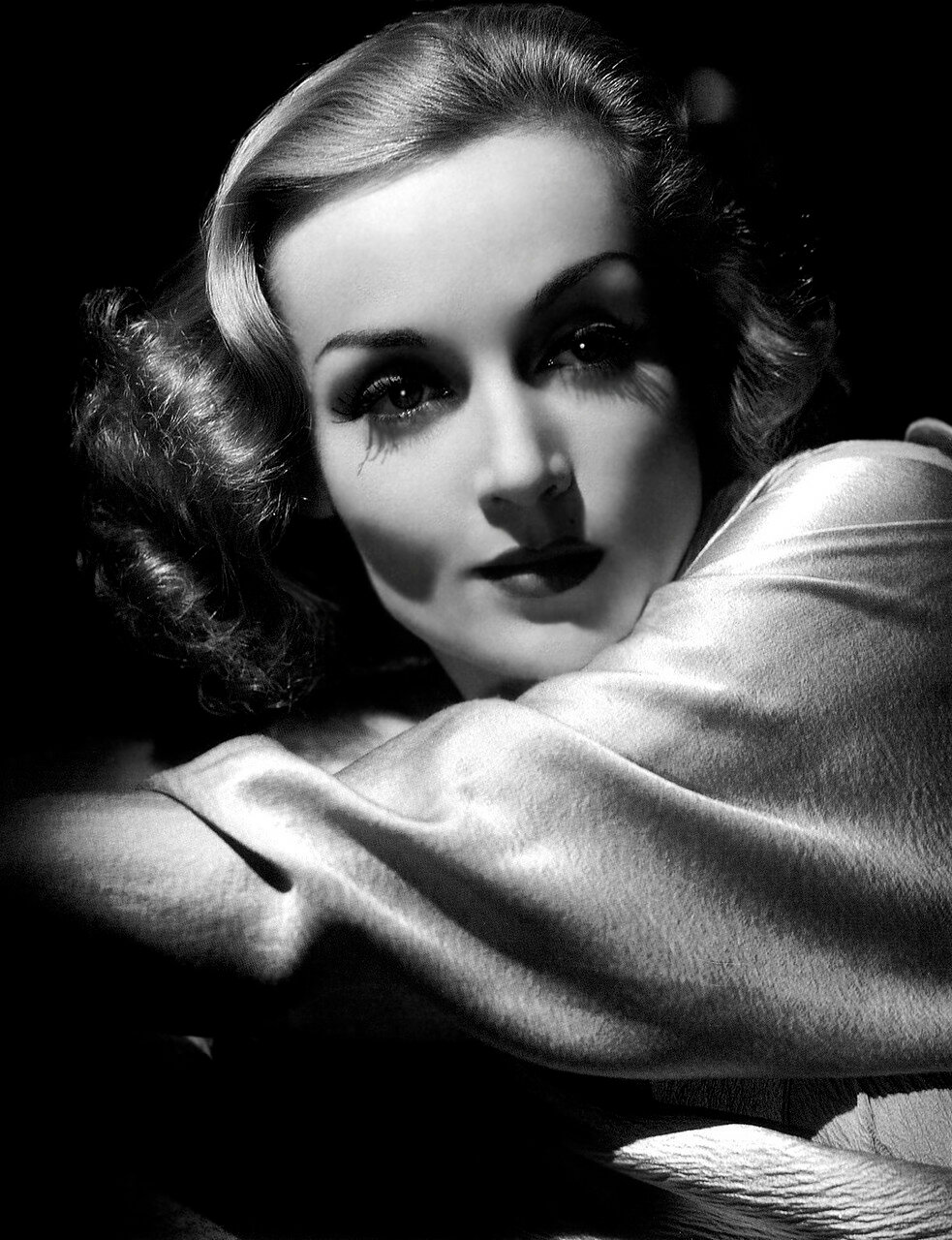 Carole Lombard - by George Hurrell 1937