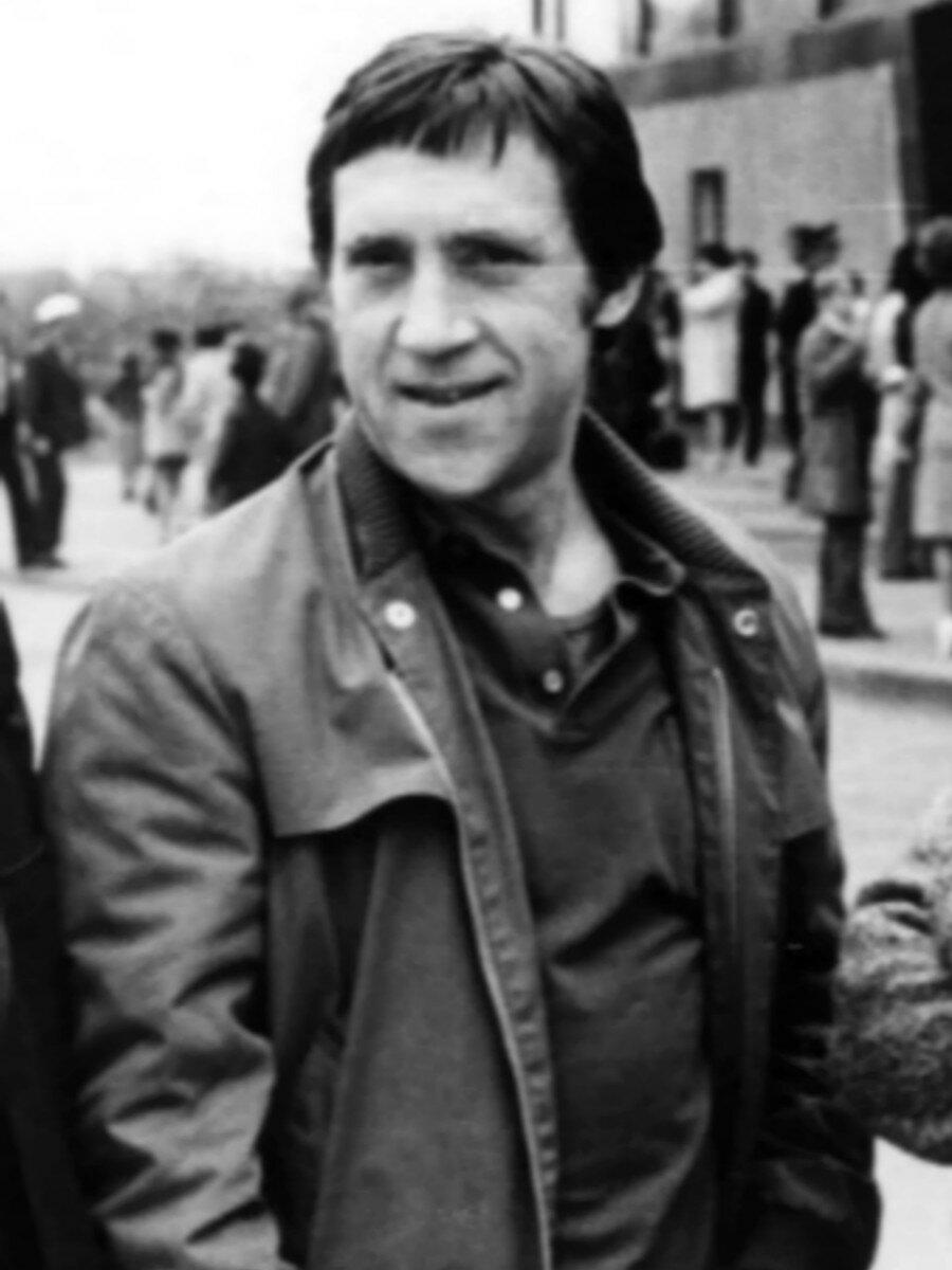 85. Владимир Высоцкий в п.Бодайбо, Иркутской области. Фото Леонида Васильевича Мончинского, июнь 1976 года