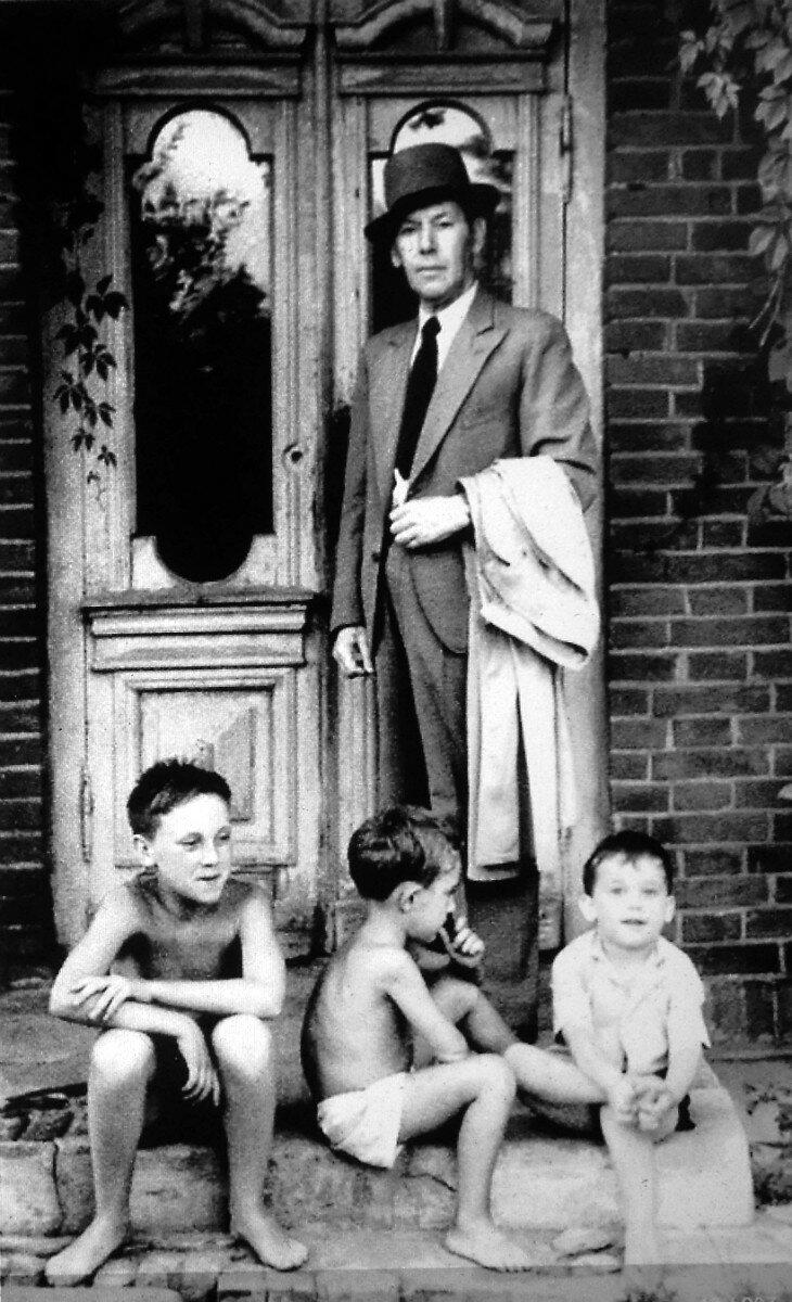 1950. Володя Высоцкий в г.Гайсин, УССР. Фото А.Высоцкого