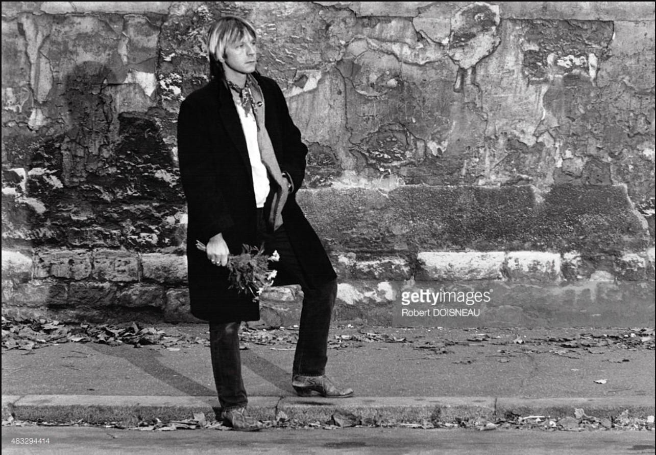1980. Портрет французского певца Рено Сешана