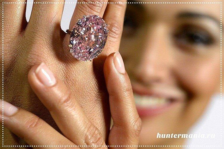 Самые дорогие бриллианты в мире - Розовая звезда / Pink Star