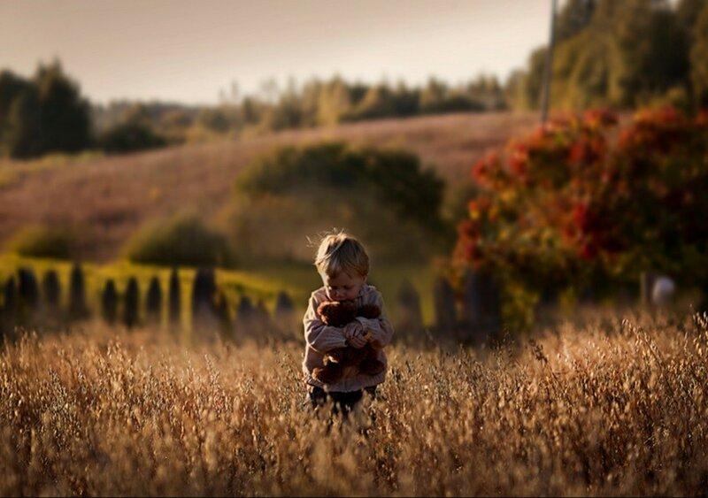Прикосновение к животным. Портреты детей и матери (фотограф Елена Шумилова)