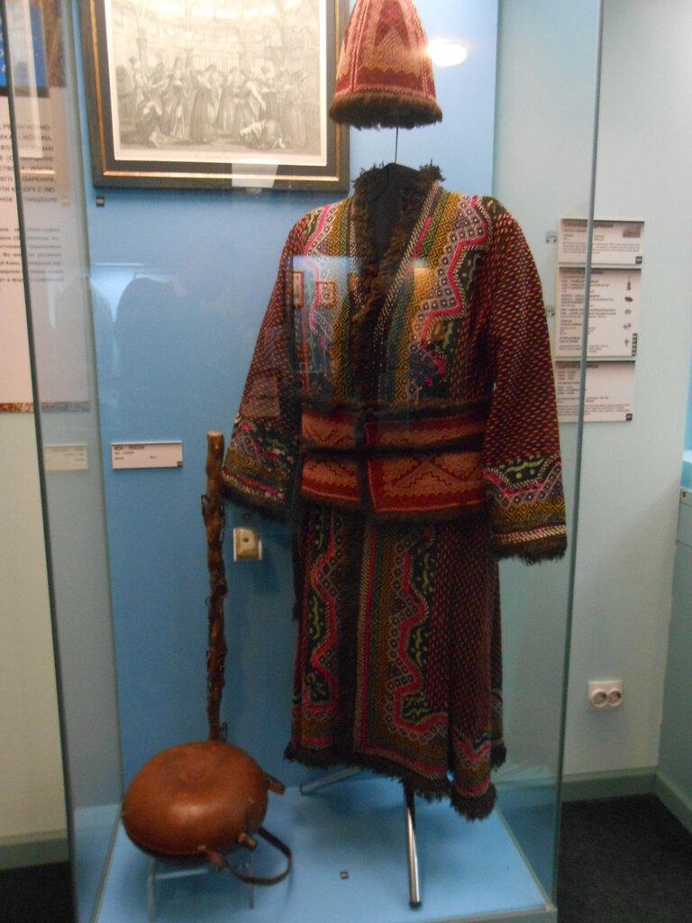 Петербург. В музее Истории религии (здесь - костюм дервиша).