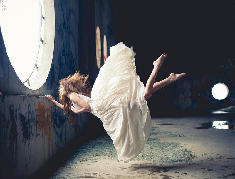 Нежный фотопроект Николая Тихомирова Zero gravity (16 фото)
