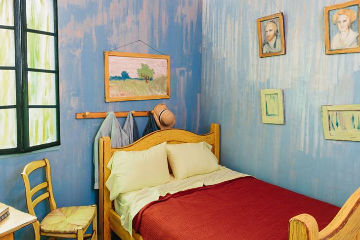 Эй, Ван Гог, пусти переночевать! (5 фото)