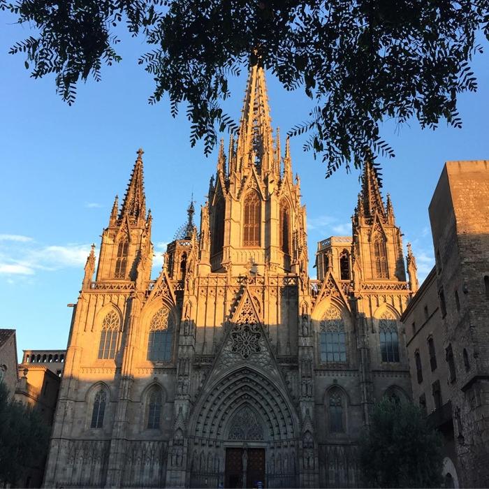 Красивая архитектура Барселоны Instagram фото 15