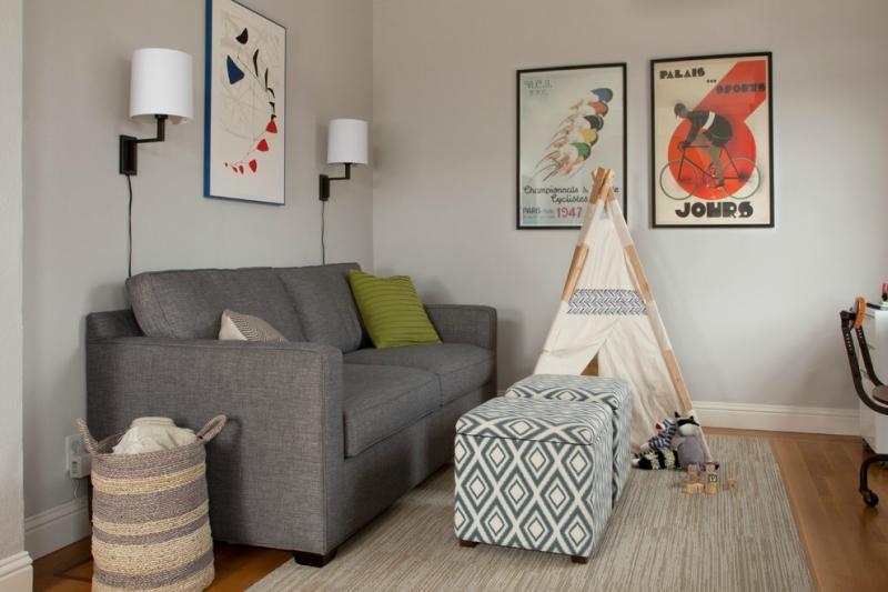 Дизайн интерьера гостиной в светлых оттенках фото 13
