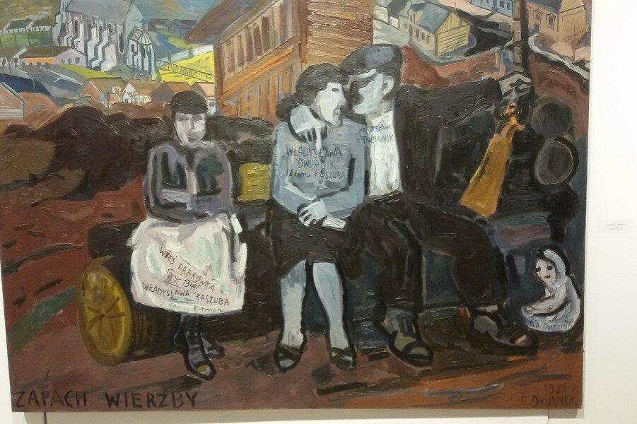Польский художник Двурник. Любовь