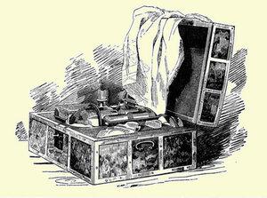 Погребец. Иллюстрация к Тарантас. «Путевые впечатления» графа В.А. Соллогуба. 1845