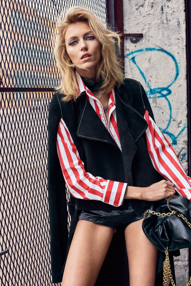 Anja Rubik for El Pais by Hunter & Gatti