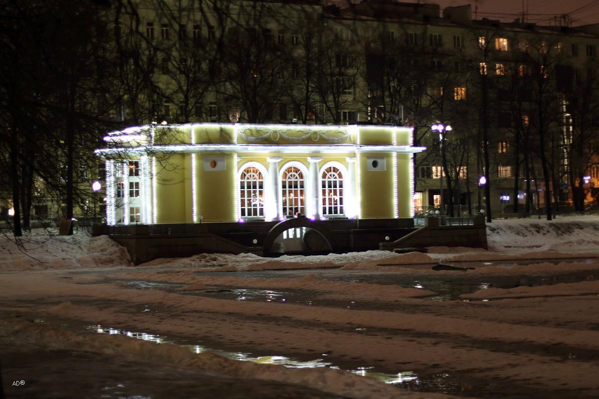 Ночная Москва 2016-03-06