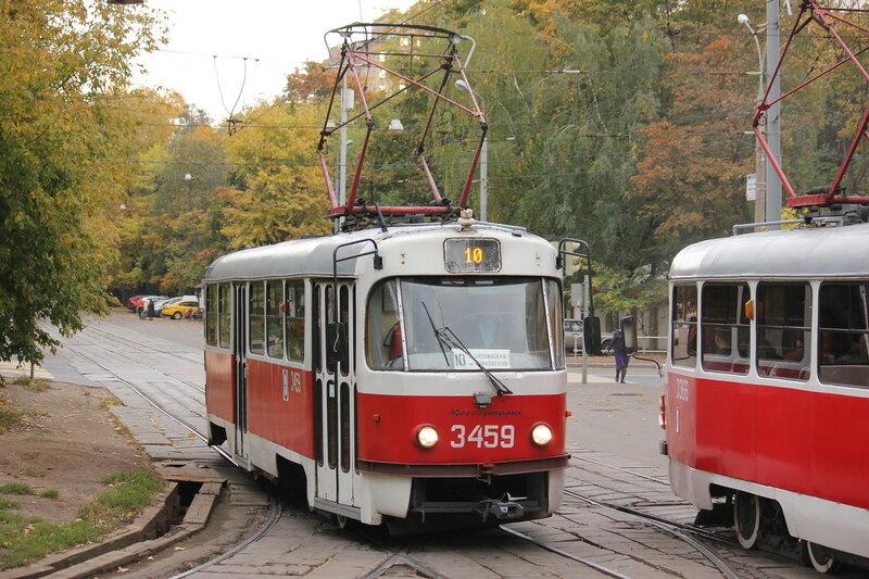 Трамвай 3459