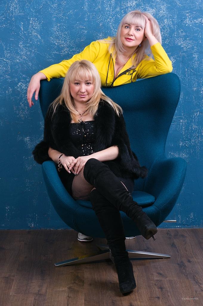 Марина и Лена фотограф Евгений Яценко Варганчик